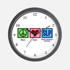 Speech-Language Pathology. Wall Clock