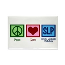 Speech-Language Pathology. Rectangle Magnet