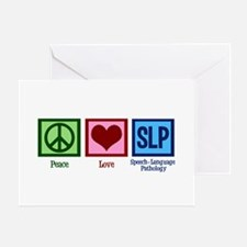 Speech-Language Pathology. Greeting Card
