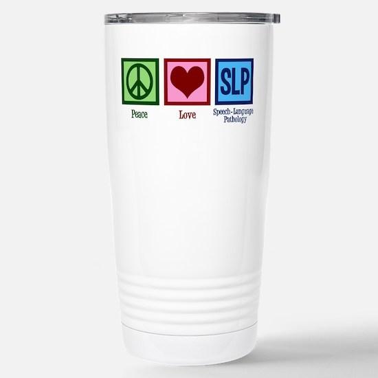 Speech-Language Patholo Stainless Steel Travel Mug