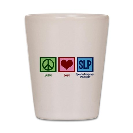 Speech-Language Pathology. Shot Glass