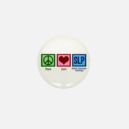 Speech Language Pathology Mini Button