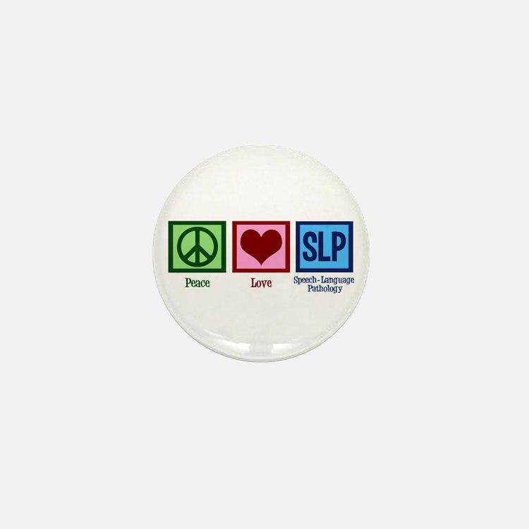 Speech-Language Pathology. Mini Button