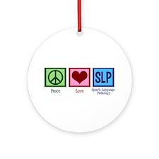Speech-Language Pathology. Ornament (Round)