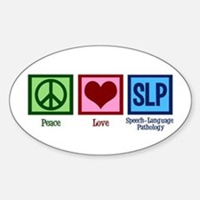 Speech-Language Pathology. Decal