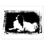 Japanese Chin Mod Dog Small Poster