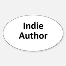 Indie Author Sticker (Oval)