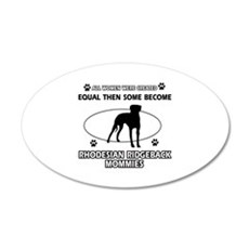 Become Rhodesian Ridgeback mommy designs Wall Decal