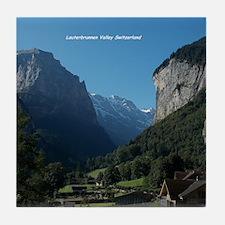 Lauterbrunnen Valley, Switzerland Tile Coaster