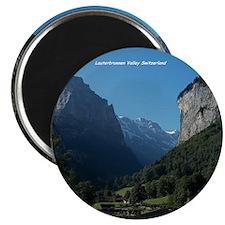 Lauterbrunnen Valley, Switzerland Magnet