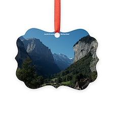 Lauterbrunnen Valley, Switzerland Ornament
