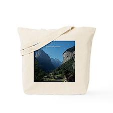 Lauterbrunnen Valley, Switzerland Tote Bag