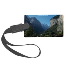 Lauterbrunnen Valley, Switzerlan Luggage Tag