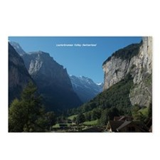 Lauterbrunnen Valley, Swi Postcards (Package of 8)