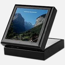 Lauterbrunnen Valley, Switzerland Keepsake Box