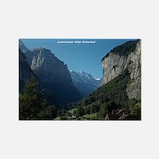 Lauterbrunnen Valley, Switzerland Rectangle Magnet