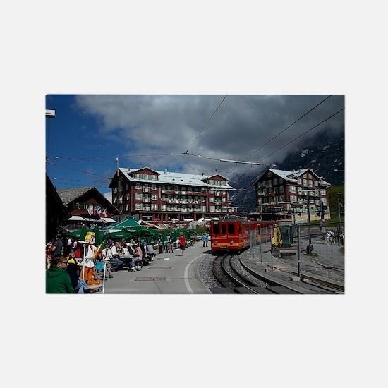 Kleine Scheidegg, Switzerland Rectangle Magnet