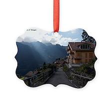 Wengen, Switzerland Ornament