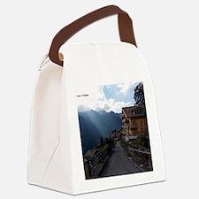 Wengen, Switzerland Canvas Lunch Bag