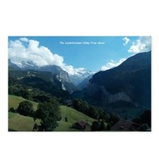 Lauterbrunnen Valley from Postcards (Package of 8)