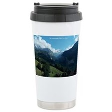 Lauterbrunnen Valley from Wenge Travel Mug