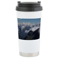 Top of the Schilthorn, Switzerl Thermos Mug