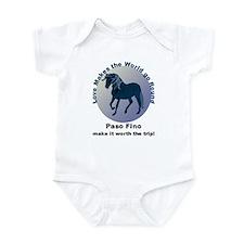 Paso Fino Worth the Trip! Infant Bodysuit
