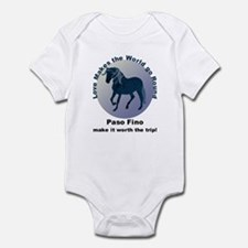 Paso Fino Worth the Trip! Infant Bodysuit