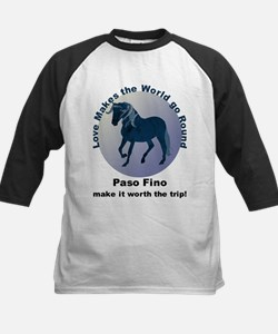 Paso Fino Worth the Trip! Kids Baseball Jersey