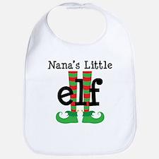 Nana's Little Elf Bib