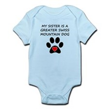 Greater Swiss Mountain Dog Sister Body Suit