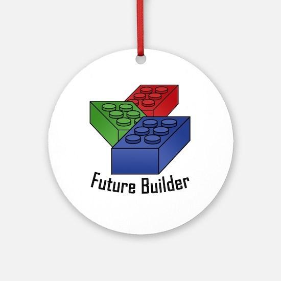 Future Builder Ornament (Round)