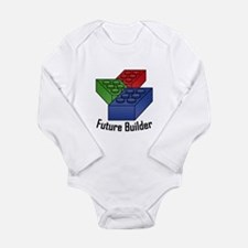 Future Builder Long Sleeve Infant Bodysuit