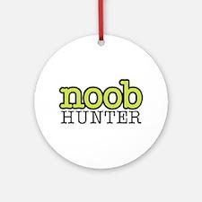 noob hunter Ornament (Round)