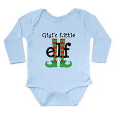 Gigi's Little Elf Long Sleeve Infant Bodysuit