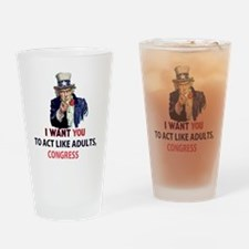 Uncle Sam: I Want You to Act Like A Drinking Glass