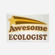 Awesome Ecologist Rectangle Magnet