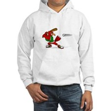 Angry Cardinal Batter Hoodie
