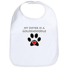 Goldendoodle Sister Bib