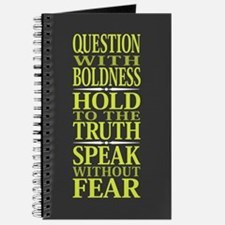 Question With Boldness Journal