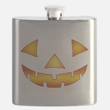 Jack-o-lantern Pumpkin Flask