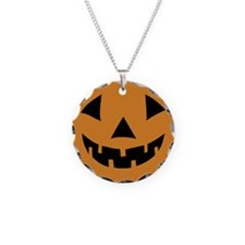 Jack-o-lantern Pumpkin Necklace