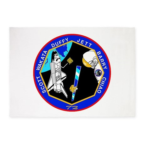 STS-72 Endeavour 5'x7'Area Rug