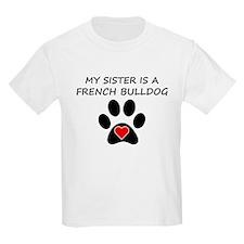 French Bulldog Sister T-Shirt