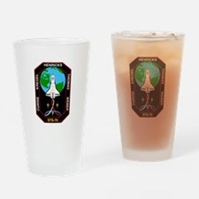 STS-70 Discovery Drinking Glass