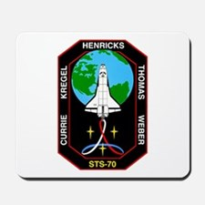 STS-70 Discovery Mousepad
