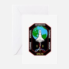 STS-70 Discovery Greeting Cards (Pk of 10)