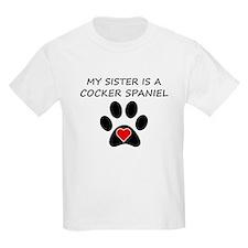 Cocker Spaniel Sister T-Shirt