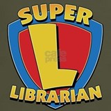 Super librarian T-shirts
