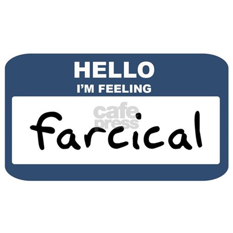 Feeling farcical mug by myfeelings for What is farcical used for